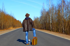 Trip to holiday. Тravel to a week-end Royalty Free Stock Photography