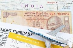Trip to India stock image