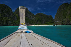 Trip to Maya Bay Stock Photography