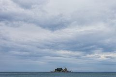 Trip to Montenegro, Petrovac, Jun 2014 Stock Image
