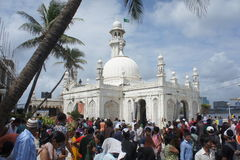 TRIP TO MUMBAI. FAMOUS HAJI ALI DARGAH..! MUMBAI Stock Photo