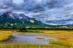 Trip to the Rocky Mountains. Royalty Free Stock Photo