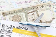 Trip to Saudi Arabia Stock Images