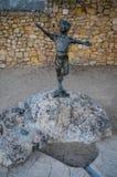 Trip to the city of Tarragona Spain stock photo