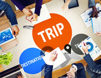 Trip Travel Destination Holiday Journey Concept Royalty Free Stock Images