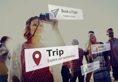 Trip Vacation Holiday Adventure Travel Exploration Concept Royalty Free Stock Image