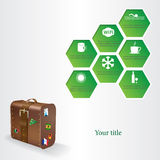 Trip vector illustration Royalty Free Stock Image