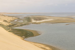 Trip from Walvis Bay to Sandwich Harbour, Namibia Stock Image