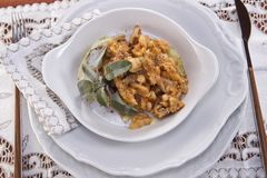 Tripe cooked with beans Stock Photography