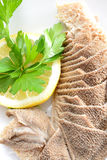 Tripe with lemon Royalty Free Stock Photography