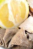 Tripe with lemon Stock Photography