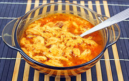 Tripe soup Stock Photos