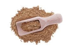 Triphala organic powder isolated on white background Stock Images