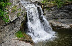 Triphammer Falls, Ithaca, New York Royalty Free Stock Photo