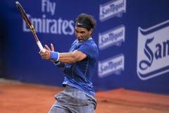 Triphosphate d'adénosine 2014 de Rafael Nadal Barcelona Open 500 Photos libres de droits