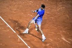 Triphosphate d'adénosine 2014 de Rafael Nadal Barcelona Open 500 Photo stock