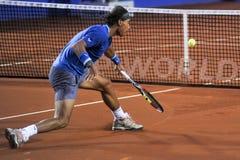 Triphosphate d'adénosine 2014 de Rafael Nadal Barcelona Open 500 Images stock