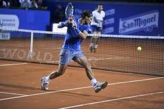 Triphosphate d'adénosine 2014 de Rafael Nadal Barcelona Open 500 Images libres de droits
