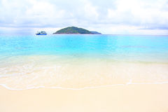 Tripical beach similan island Royalty Free Stock Images