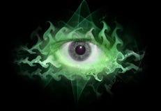 tripin космоса глаза предпосылки Стоковые Изображения RF