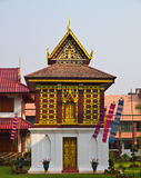 Tripitaka房子, Wat华Kwang,南泰国 库存图片