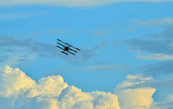 Triplane fighter Stock Photography