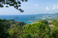 Triple Beach Viewpoint Stock Image