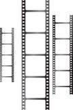 Triple blanc de film Image libre de droits