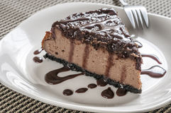 Free Triple Chocolate Cheese Cake Stock Photo - 34748610