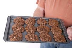 Triple Chocolate Cookies Royalty Free Stock Photo