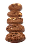 Triple Chocolate Cookies Stock Images