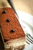 Triple Chocolate Mousse Cake Royalty Free Stock Photography