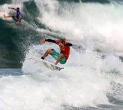 Triple Crown de las furgonetas de practicar surf 2008 Imágenes de archivo libres de regalías