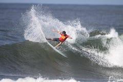 Triple Crown de surfer photographie stock