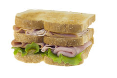Triple decker sandwich Stock Photography
