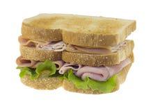 Triple decker sandwich Stock Photography