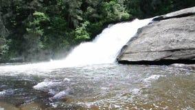 Triple Falls; Asheville, North Carolina stock video footage