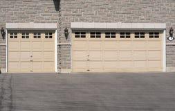 Triple Garage royalty free stock photos