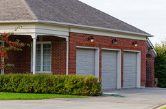Triple Garage Royalty Free Stock Image