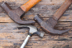 Triple  hammer Royalty Free Stock Photos