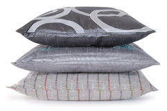 Triple pillows Royalty Free Stock Images