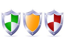 Triple protection. Stock Photos
