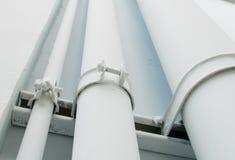 Triple pvc pipe Royalty Free Stock Image