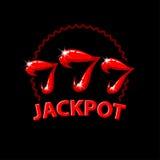 Triple seven jackpot illustration. Women`s lips and 777 winnings in the casino. Slot machine illustration on a black background vector illustration