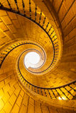 Triple spiral staircase Royalty Free Stock Images