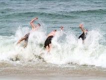 Triple Splash Stock Image