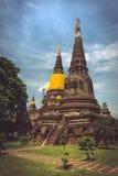 Triple stupa Royalty Free Stock Photo