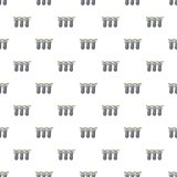 Triple water filter pattern seamless Royalty Free Stock Photography