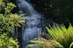Triplet Falls. Waterblanket off the Triplet Falls Stock Images
