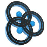Triplex symbol Stock Image